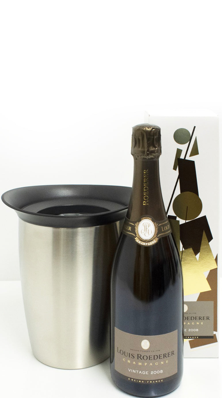 Louis Roederer Brut Vintage 2008 Champagne 750ml with Active Cooler : GIFT PACK