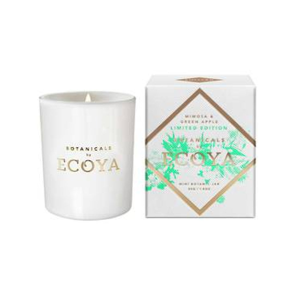 Ecoya Small Mimosa & Green Apple Candle