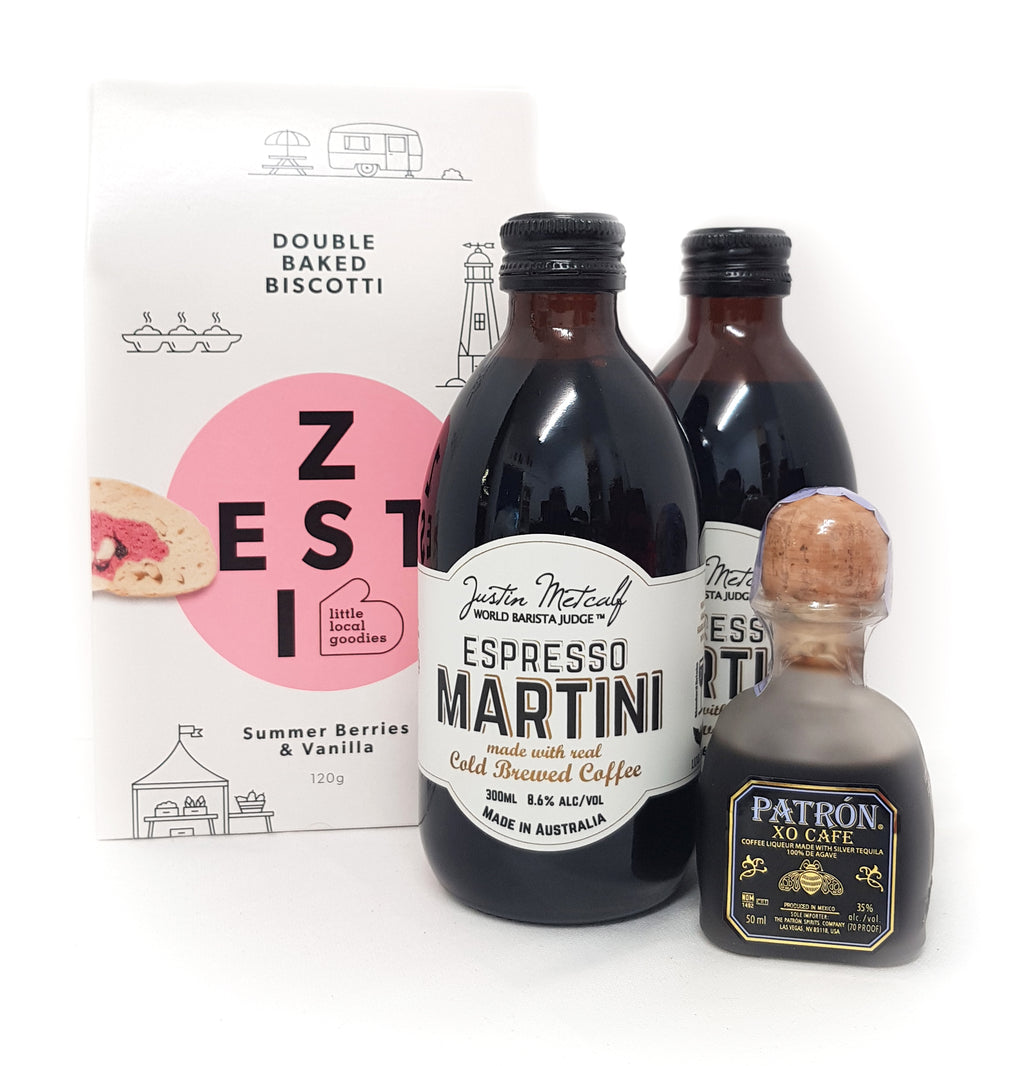 Espresso Martini with Zest
