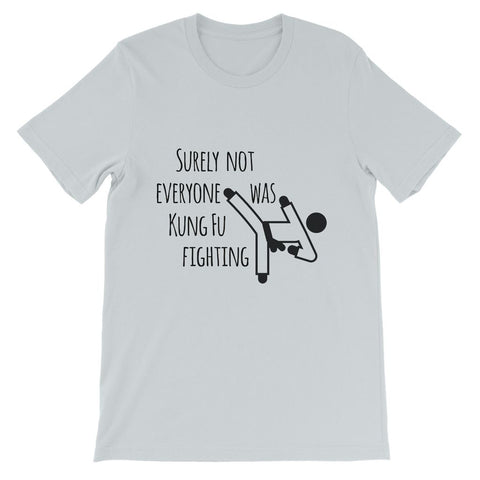 Kung Fu Fighting - Kids TShirt (White, Grey, Pink & Ash)