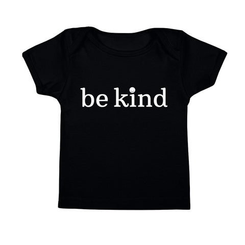 Be Kind Infant Tee (Black)