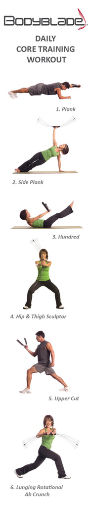 Bodyblade Core Workout
