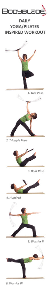 Bodyblade Yoga Workout