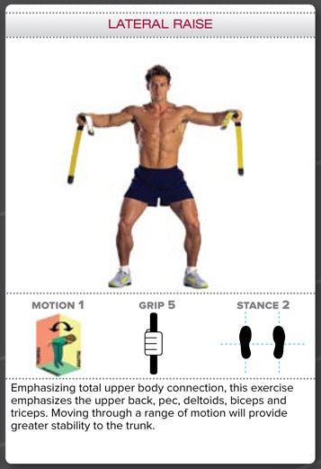 Bodyblade Rehab Exercise - Lateral Raise