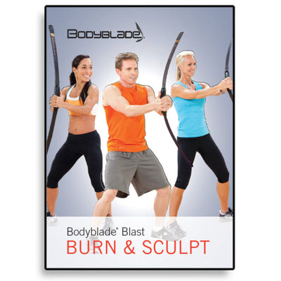 Bodyblade® Blast: Burn & Sculpt DVD