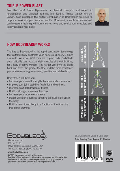 Bodyblade® Triple Power Blast DVD