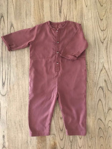 Tencel Jumpsuit - Dusty Rose