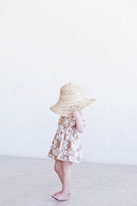 Summer Dress - Mocha Blossom