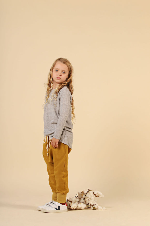 GPS Slouch Pant - Mustard