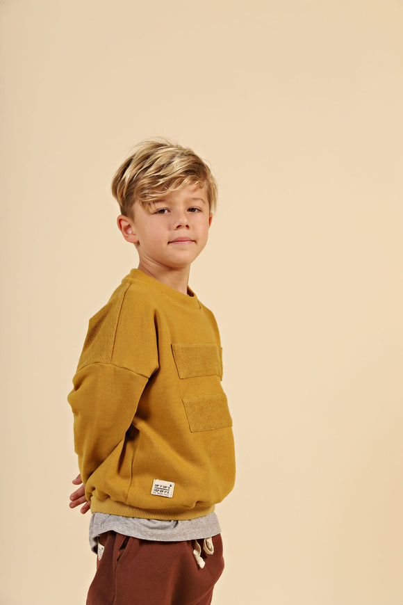 GPS Panel Jumper - Mustard