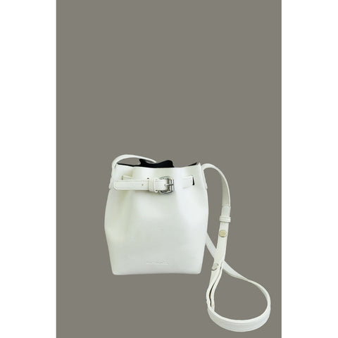 BUCKET BAG -WHITE