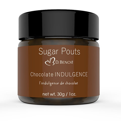 Sugar Pouts Lip Scrub - Chocolate Indulgence