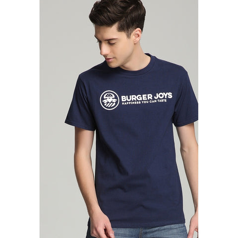 Regular Crew T-shirt In Navy Blue