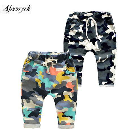 Boys / Girls Pants  Lace Camouflage Kids Baby Trousers