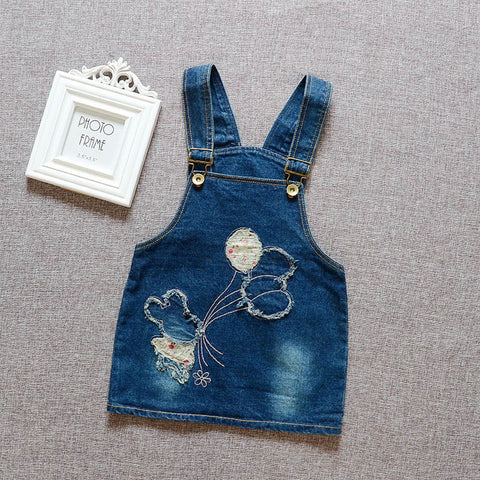 Baby girl Overalls dress Toddler Clothing