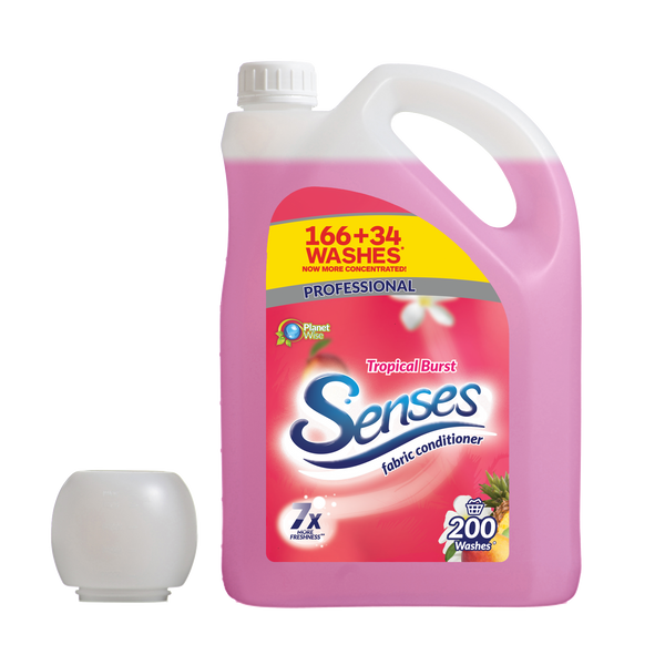 Senses Tropical Burst 5L 200 washes