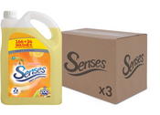 Senses Fruit Fusion 5ltr 200 washes CASES (3 X UNITS)