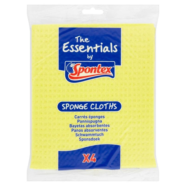 Spontex Essentials Sponge Cloths
