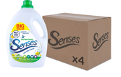 Senses Bio Fresh Cotton 3ltr 100 washes CASE (4 X UNITS)