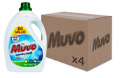 Muvo Bio Fresh Cotton 3ltr 100 washes CASE (UNIT X 4)