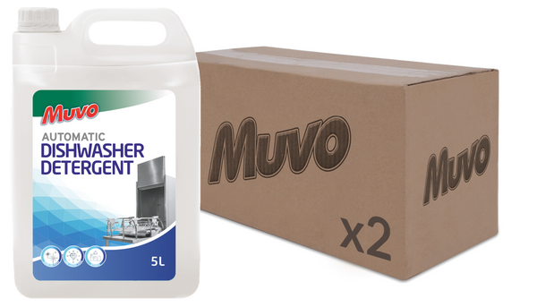 Muvo Pro Dishwasher Liquid Detergent 5L CASE (2 X UNITS)
