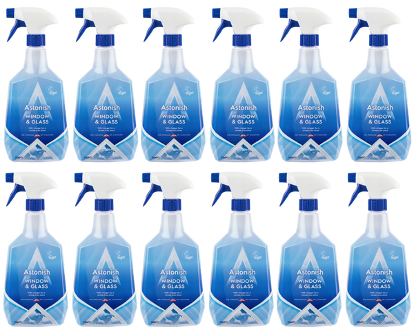 Astonish Window & Glass Cleaner 750ml Case of 12
