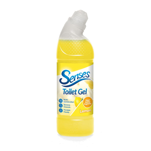 Senses Lemon Toilet Gel 750ml