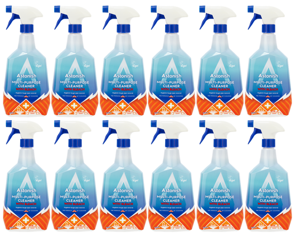 Astonish Multi-Purpose Cleaner With Bleach 750ml Case of 12