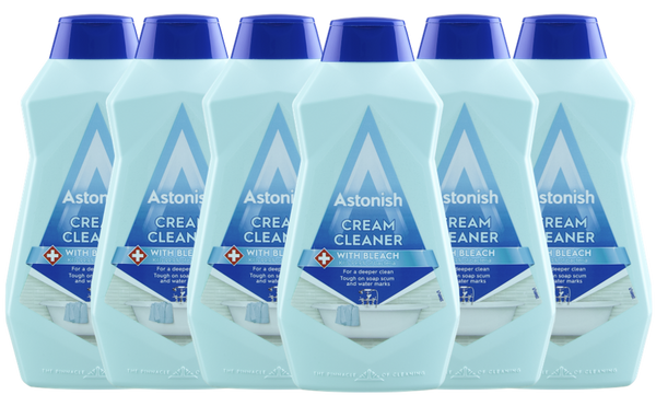 Astonish Cream Cleaner with Bleach 500ml Case of 6