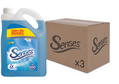 Senses Blue Breeze 5L 200 washes CASES (3 X UNITS)