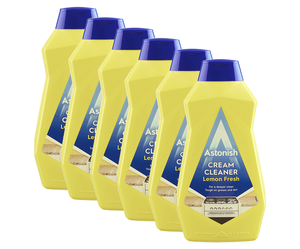 Astonish Cream Cleaner Lemon Fresh 500ml Case of 6
