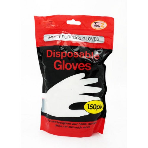 Tidyz Multi-Purpose Disposable Gloves 150pk