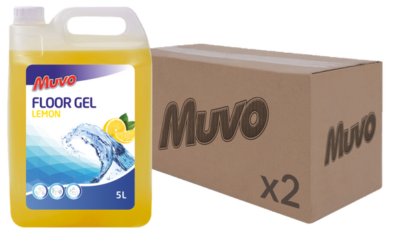 Muvo Pro Floor Gel Lemon 5L CASE (2 X UNITS)