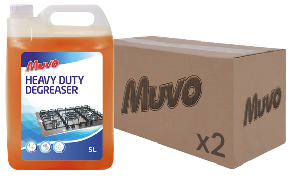 Muvo Pro Heavy Duty Degreaser 5L CASE (2 X UNITS)