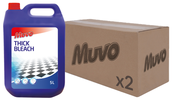 Muvo Pro Thick Bleach 5L CASE (2 X UNITS)