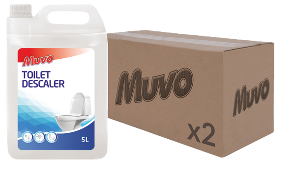 Muvo Pro Toilet Descaler 5L CASE(2 X UNITS)