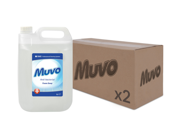 Muvo Anti-Bacterial Foam Soap CASE (2 X UNITS)