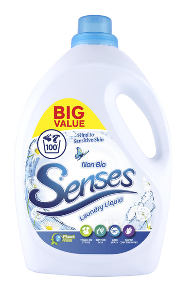 3L Senses 100 Wash X 2 for £15