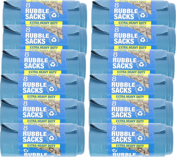 In House 8 Extra Heavy Duty Rubble Sacks Case of 20
