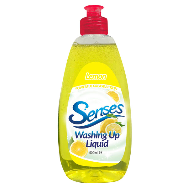 Senses Lemon Washing Up Liquid 500ml