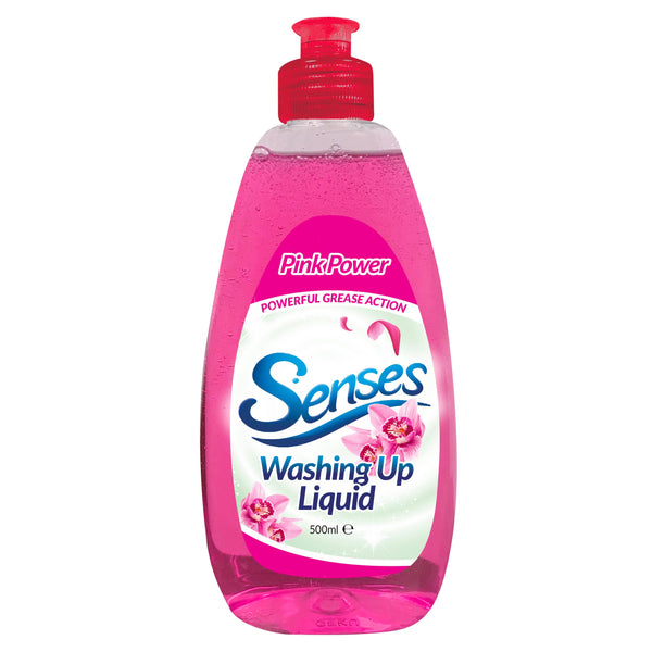 Senses Pink Berries Washing Up Liquid 500ml