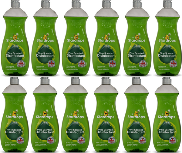 Stardrops Pine Disinfectant 750ml Case of 12