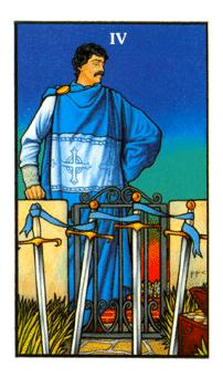 Four of Swords - Tarot & Tea