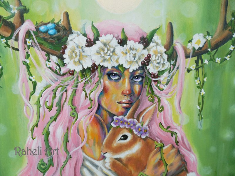 Blessed Ostara!  Happy Spring!