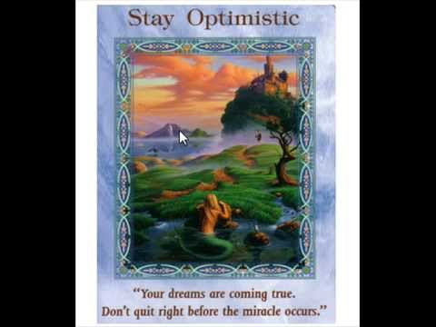 Stay Optimistic #tarot&tea
