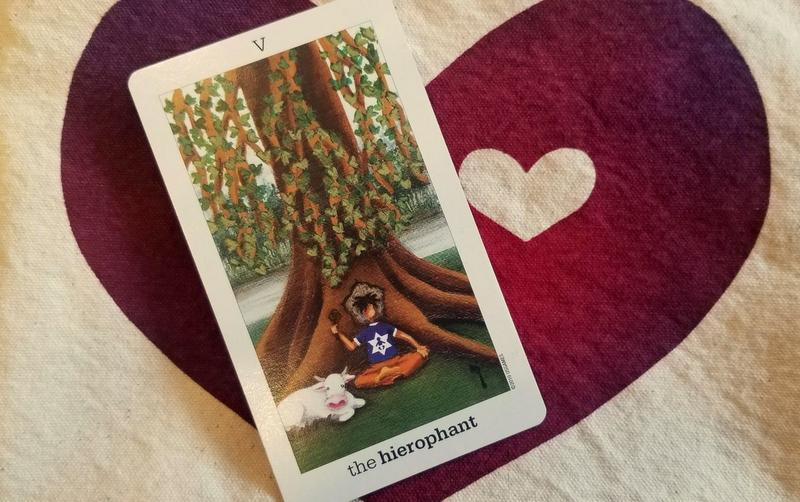 The Hierophant - Tarot & Tea