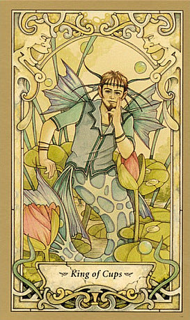 King of Cups - Tarot & Tea