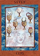 Seven of Cups - Tarot & Tea