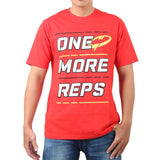 Tee One More Reps - Red