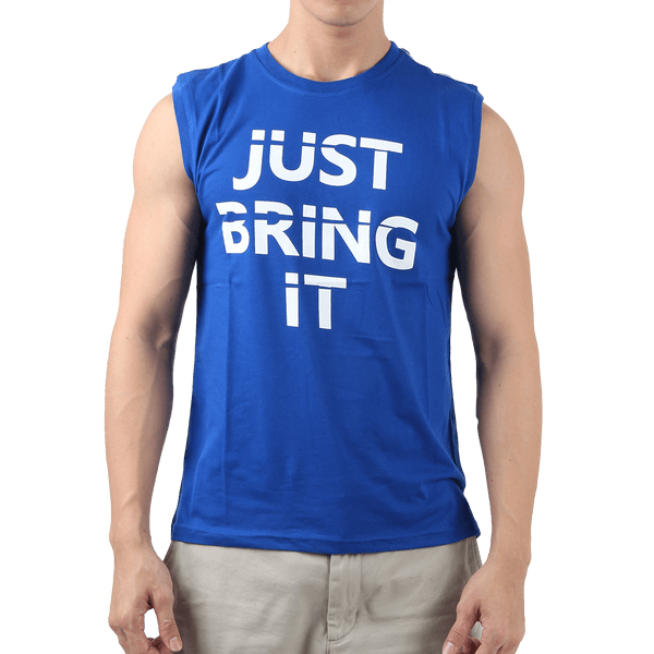 Sleeveless Just Bring It – Blue